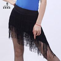 Dynasty dance Latin dance skirt tassel short skirt multi-layer tassel 2092 bottoms