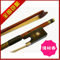 Violin bow bow ebony horseshoers - - box rosin