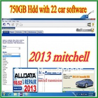 2013 Alldata 10.52,Mithell 2013, 2013  ESI+ ATSG, ETKA 23 in 1 Auto software +750 gb external HDD