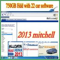 2013 Alldata 10.52,Mithell 2013, 2013  ESI+ ATSG, ETKA 23 in 1 Auto software +750 gb external HDD