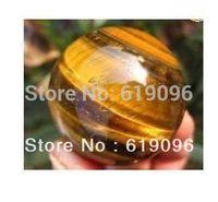 50MM! tigereye quartz crystal sphere ball healing