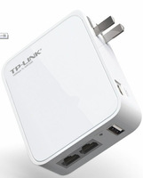 TP-LINK TL-WR720N 150M Mini 3G wireless router Wired 3G Dual Ethernet ports to meet the needs of wired and wireless sharing!