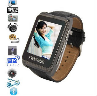 2013 ultra-thin waterproof looply watch mobile phone s9110 handwritten mp3mp4 metal shell strap s9120(China (Mainland))