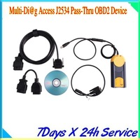 2013 New High quality Multi-Di@g Access J2534 Pass-Thru OBD2 Device (Resolve No VCI Found Problem) with Best Price Fast Shipping