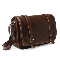 Vintage Genuine real leather  Men buiness handbag  laptop briefcase  shoulder Travel bag  / man  messenger  bag  JMD3118-218