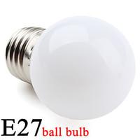 300pcs E27/E14 1W High Power 50-80lm LED Mini Ball bulb led lighting 180 degrees Voltage110V or 220V Shipping Free