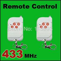 2pcs/ 433MHz Wireless Remote Control Key Telecontrol For Wireless GSM/PSTN Auto Dial Home Security Alarm System