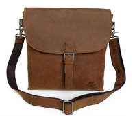 Vintage Genuine real leather  Men buiness handbag  laptop briefcase  shoulder Travel bag  / man  messenger  bag  JMD6053-310