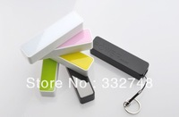 Wholesale 2600mAh universal USB External Backup Battery Power Bank for apple iPhone galaxy s3 note 2 mobile Phone Mobi