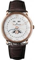 Blancpain rose gold mechanical mens watch 6664-3642-55b