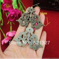 45mm Antique wrap angle fillet edges corner of the carton alloy decorative corner  alloy butterfly wooden corner fillet