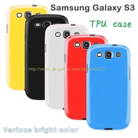 Case for Samsung Galaxy S3 TPU gel back cover skin jelly series i9300 mobile covers soft shell phone cases Free shipping