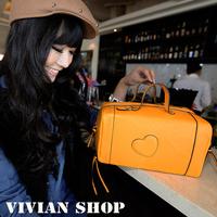 Magazine version of the peach heart personalized vintage handbag messenger bag the box  handbag shaping bag