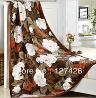 fleece blanket double bed soft blanket top quanlitypink blanket 10color for your choice