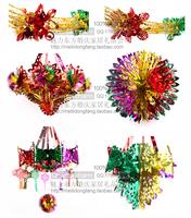 For dec  oration plastic glass paper garland blue flowers hanging basket lobbing lantern wedding supplies
