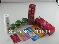 DHL Free Shipping YiQi Beauty Whitening 2+1 Effective In 7 Days +1 Facial Cleanser( Green Cover) 10 sets