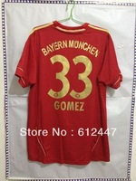 #33 Mario Gomez  Home Jersey 2013 ,Thai +++ Quality Jersey .4th patch +Euro ball +Respect