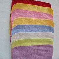 100% cotton face towel children 20*20cm