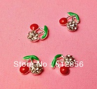 Wholesale Fashion 3D BOW Shape Metal Nail Art Decoration / Cellphone Rhinestone Glitters Decoration, 100pcs/lot for each style
