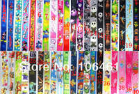 Kids Mickey&Minnie/Princess/ Tinkerbell key Lanyard ID Holders Mix color DHL Free Shipping
