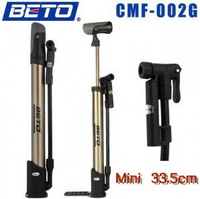Free Shipping Brand BETO CMF-002G Mini Cycling Bike Bicycle Riding Household Gage Pump -US/France Nipple - With Gage