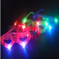 Free shipping Children LED Glasses flashing blind glasses Light led Shutter Glasses for party