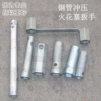 Steel spark plug wrench hexagonal spark plug wrench spark plug socket