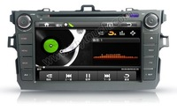 Android DVD GPS 8 inch TOYOTA COROLLA 3D 3G/WiFi;OBD2;Cortex A8 MX51;Bluetooth 1080P 512M;4GB in wholesale