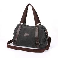 Good quality in stock fashion hot selling for Canvas bag mens shoulder bag crossbody floral bag school student bag