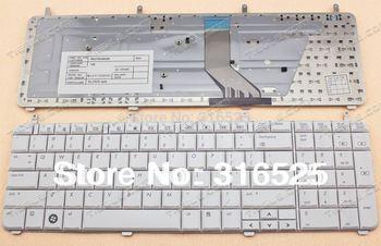 New Keyboard  For HP PAVILION  DV7  DV7-2000 DV7-3000  WHITE  KEYBOARD  AEUT5U00110  US United states Layout