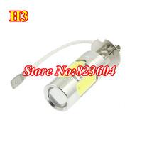 White 5 SMD LED H3 DRL Daytime Driving Light Fog Lamp 11W for Vehicle Car