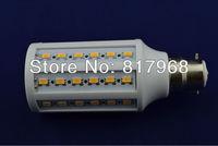 Free Shipping 15W B22 60PCS 5630 LED SMD LED BULB Warm White cool white 220V