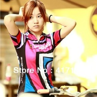2013 hot sale SOBIKE perspicuousness quick-drying female summer MTB cycling clothing,short-sleeved blouse