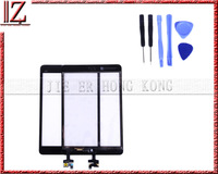 New and original 100% touch screen for ipad mini touch with home button with ic frees shipping china post 15-26days
