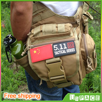 Upgraded version!Outdoors Army fans bags military saddle bags men shoulder bag leisure riding sports camera bag