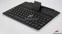 New Wireless Bluetooth Aluminum Keyboard for  iPad 3 iPad 2 ipad1 black Free shipping