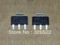 Free shopping 200PCS AMS1117-5.0V AMS1117 1117 5V  Voltage Regulator LDO SOT-223