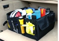 Car trunk storage box vehienlar garbage bucket car glove box storage box glove bag tool box