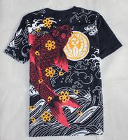 spring 2014 t shirt tattoo quaity carousingly t-shirt Men short-sleeve T-shirt