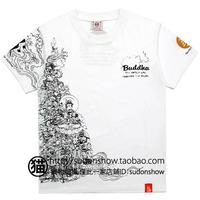 autumn 2014 t shirt tattoo Hard Men short-sleeve T-shirt japanese style short-sleeve