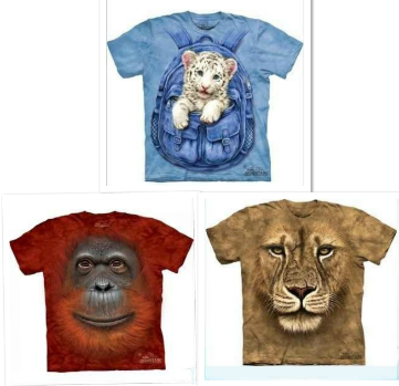 3 d t shirt 3d tshirt 3 d Men's clothing personalized three-dimensional animal pattern print 3dt male short-sleeve 3d T-shirt(China (Mainland))