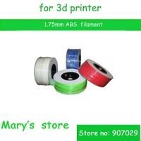 free shipping makerbot/mendel 3d printer ABS filament 1.75mm