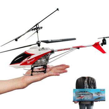 New 108 3.5CH IR R/C Remote Control Alloy Metal Large Helicopter With Gyro Red Free shipping& wholesale(China (Mainland))