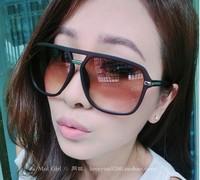 Big black frame sunglass hot selling unisex high quality sunglass UV400 Fashion eyewear eyeglass frame 4 Colors Free Shipping