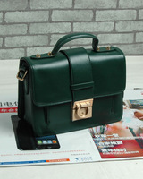 2013 women's leather bag genuine leather small bag fashion shaping vintage messenger bag portable messenger bag