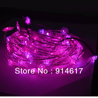 Multicolour  10M 100 LED String Light  12V Decoration Light for Christmas Party Wedding With Copper Wire Waterproof