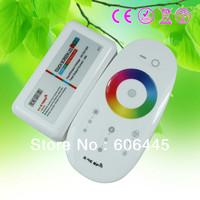Free Shipping Full Touch LED RGB+W RGB-W RGBW Controller 4 channel RGBW