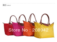 Best Seeling!!Top quality ladies Classic handbag designer women foldable bags female shopping bag free shipping