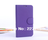 Luxury Multi-Color Collocation PU Leather Flip Case Cover for Samsung Galaxy Note 2 ii N7100 Phone Accessories