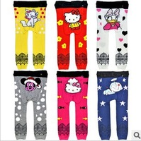 2013 NEW Arrival Children Kids PP Pants Long Trousers Cartoon Legging Cotton Baby Boys Girls Wear pp pants for girls